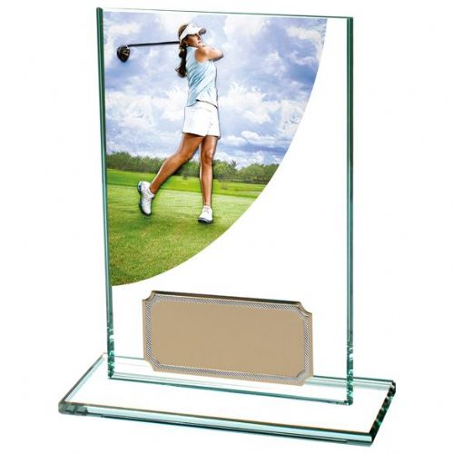 Colour Curve Golf Female Jade Crystal 125mm